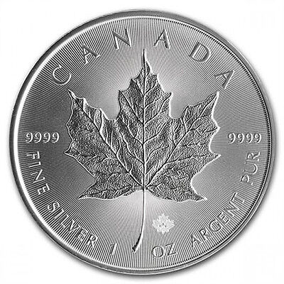 RCM – 2016 Canadian Maple Leaf Silver 1oz Bullion Coin