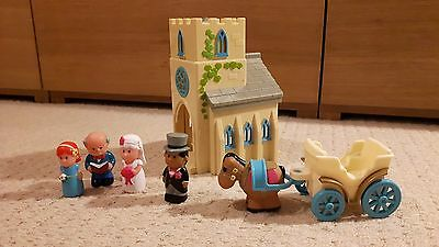 Happyland church and accessories