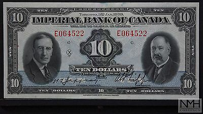 1939 Imperial Bank of Canada $10 Banknote