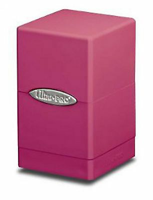 Ultra PRO - Deck-Box Satin Tower - Pink - OVP