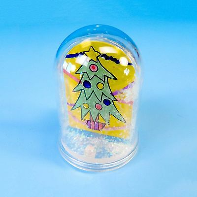 Make Your Own Snowdome - Christmas, Xmas, Arts & Crafts, Kids, Children, Gifts