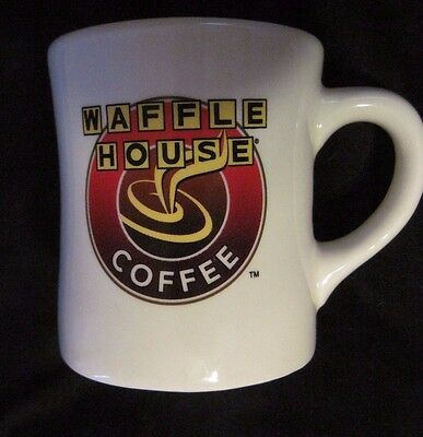 WAFFLE HOUSE Coffee Mug Heavy Thick Diner Style Cup Tuxton Restaurant EUC