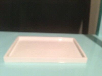Jonathan Adler White Lacquer Tray