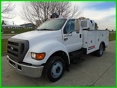 2005 Ford F650 XL Pro Loader 10' Dominator Service Body Used