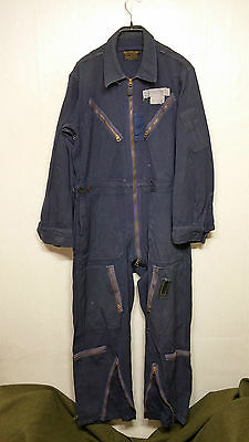 RARE 1950'S Vintage USAF L-1A FLYING SUIT COVERALL US Military Uniform Clothes