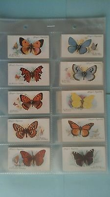 Player Butterflies Full Set Excellent Condition In Sleeves