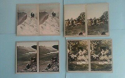 Cavanders Coloured Stereoscopic Full Set Excellent Condition In Sleeves