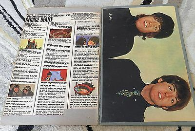 Beatles vintage scrapbook with original cuttings from 1960's