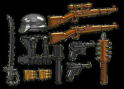 Brickarms World War 1 Central Powers Weapons Pack for Lego Minifigure
