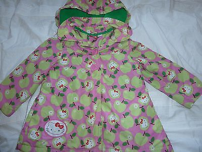 Gorgeous Hello Kitty coat 3-4years - so cute!