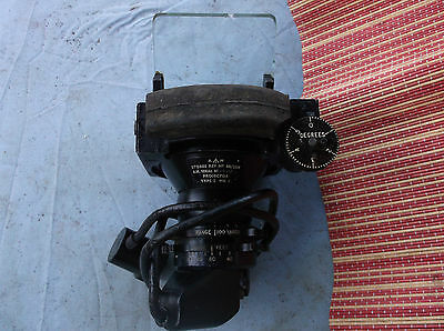 ww2 raf spitfire mk 3 gunsight dated 1944 good condition chip on glass