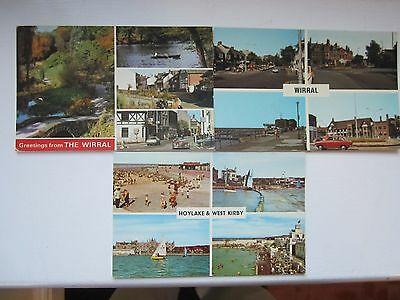 Postcards of Wirral/West Kirby/Hoylake -- Dated 1982/Multiview
