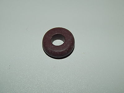 Ancient Viking Red Stone Spindle Whorl Amulet!