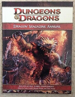 Dungeons & Dragons: Dragon Magazine Annual - Roleplaying Game Supplement