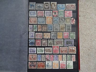 Colombia Collection Of 119 Stamps 1937-1950 Incl.1938 Bogota 1P M/mint