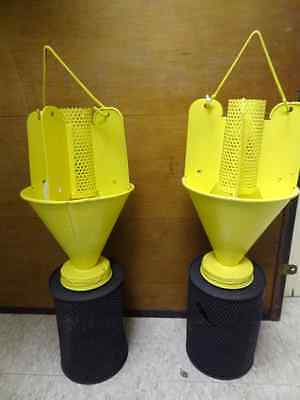 Pair of Vintage Bug Catchers or Candle Holders