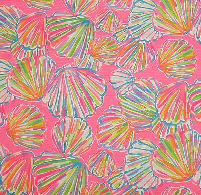 2016 Lilly Pulitzer Cotton Jacquard Fabric Shell Abrate 1 yard BTY