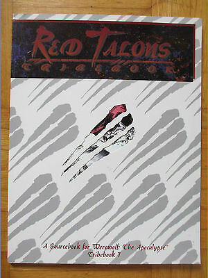 RED TALONS - Werewolf Apocalypse Player Guide White Wolf source Tribebook rpg
