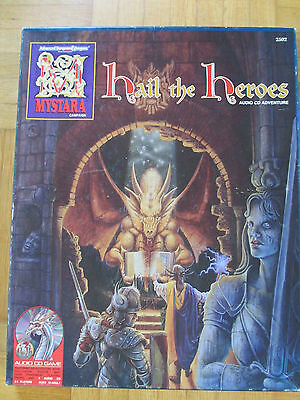 TSR - MYSTARA - Hail the Heros - Player Guide source AD&D 2nd Edition Dungeons