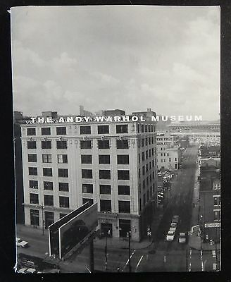 ANDY WARHOL MUSEUM Pittsburgh Introductory Press Kit 1994
