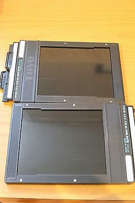 2 4X5 Toyo film holders in excellent condition