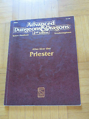 AD&D 2nd Edition - ALLES ÜBER PRIESTER - 2113G - Advanced Dungeons Dragons tsr 2