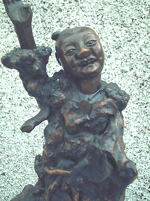 Antique  Chinese Wooden Root Carving