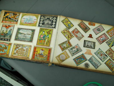 Antique Album Of Japanese Chinese  Matchbox Labels Over 500+