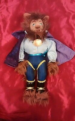 Disney Beast Soft Toy Plush From Beauty And The Beast