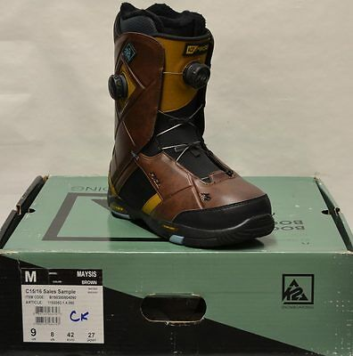 '15 / '16 K2 Maysis Snowboard Boots – Brown - 9 *NEW* -Salesman Sample-