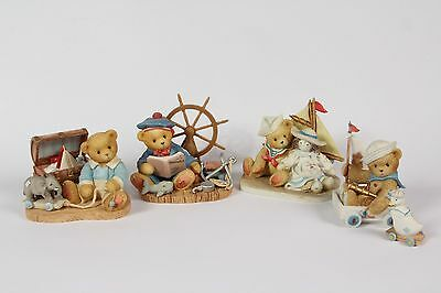 REDUCED! Cherished Teddies- Glenn, Wilfred, Zachary & Dawson