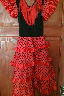 Spanish dress and shoes