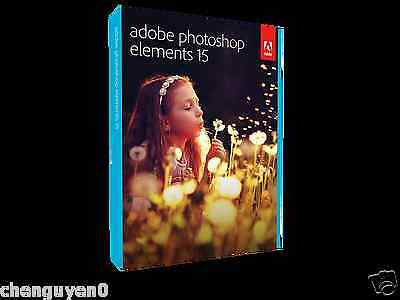 Organize,Edit,Create,Share your best photos by Adobe Photoshop Element 15 (WIN)