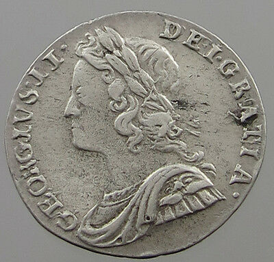 Great Britain 2 Pence 1735   #t7 731