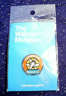 "WALMART Teamwork ""Helping Hands"" Pin Tie Tack Factory Sealed NEW"