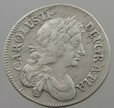 Great Britain 4 Pence 1683  #t7 685