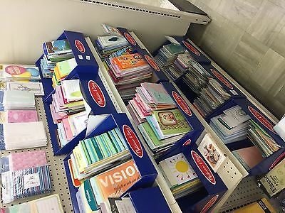 Closeout Lot Of 100 Assorted  Greeting Cards