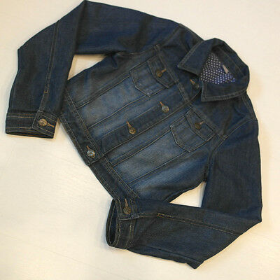 Girls Denim Jacket Age 11-12 Years - Excellent Condition