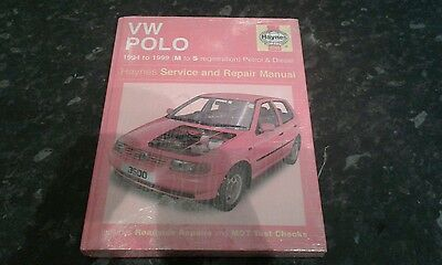 Haynes Service And Repair Manual Vw Polo 1994-1999 Volkswagen