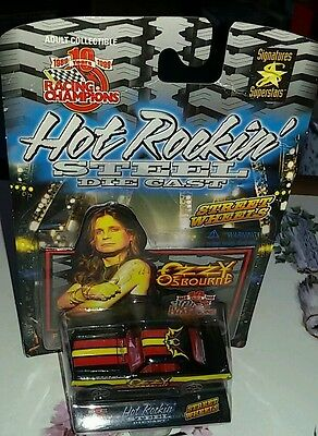Racing champions ozzy Osborne die cast car Rare collectable