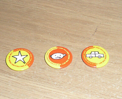 U2 3 Zooropa Button Pin Badges  FREE POSTAGE