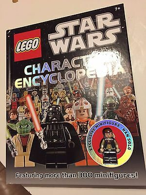 LEGO Star Wars Character Encyclopedia with exclusive Han Solo Minifigure