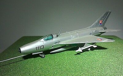 Mig-21 Built and Painted for Display 1:72 Scale