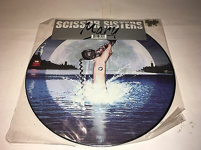 """Scissor Sisters Mary 12"""" Picture Disc"""
