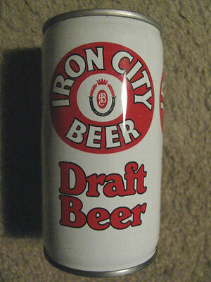 Iron City Draft Empty 12 Ounce Beer Can . . .