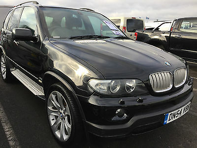 54 Bmw X5 4.8 Is Auto Leather Sat Nav Lpg Gas Spares Or Repair, Drives, Lovely