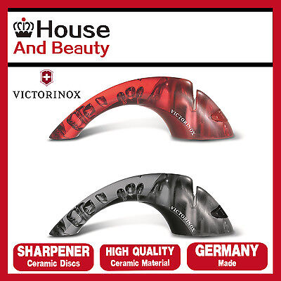 NEW Victorinox 2 Stage Knife Sharpener with Ceramic Discs Rolls