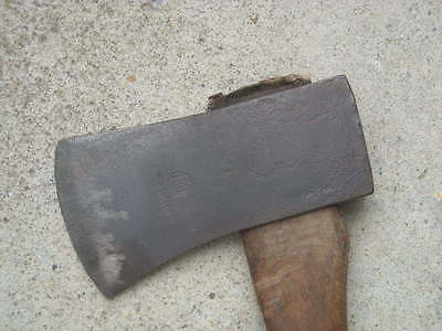 Vintage HB Hults Bruk AXE, 2 1/4 lb, 1 kg With Handle, Made In SWEDEN