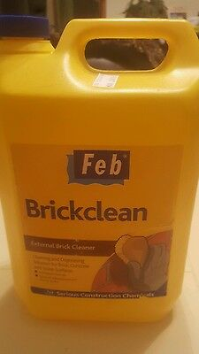 FEB External Brick Acid Cleaner - 5L new container
