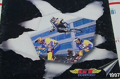 GT Dyno BMX Freestyle CATALOGUE 1997 FULL SIZED 31pages color